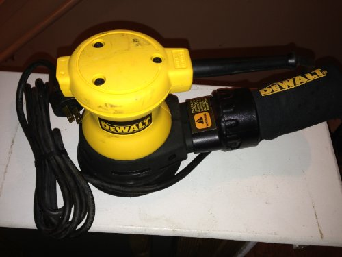 DEWALT DW421 2 Amp 5-Inch Orbital Sander with Dust Canister