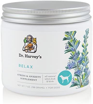 Dr. Harvey s Relax Stress – Herbal Supplement for Dogs, 7 oz. Jar
