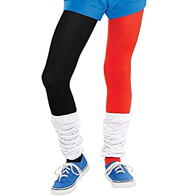 Costumes USA DC Super Hero Girls Romper Harley Quinn Costume for Girls, Includes a Romper, a Mask, and Belt: Clothing