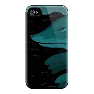 Luoxunmobile333 Perfect Cases HTC One M7 Anti-scratch Protector Cases (nightfox)