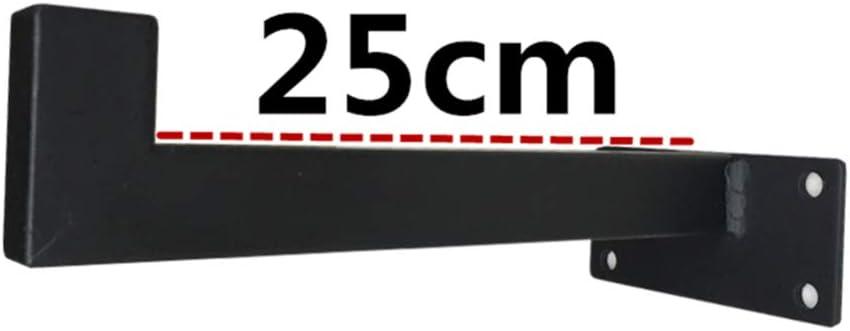 QYJX Soportes de estante de servicio pesado Soporte de tablero de andamio 2 piezas soportes de estante de tuber/ía para estantes flotantes de estanter/ía estante decorativo de hardware de pared