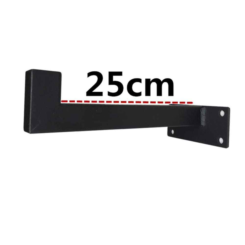 soportes de estante de tuber/ía para estantes flotantes de estanter/ía 2 piezas estante decorativo de hardware de pared QYJX Soportes de estante de servicio pesado Soporte de tablero de andamio