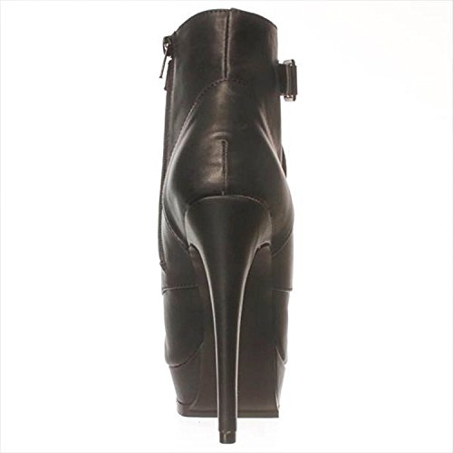 Just Fab Womens Bevin Closed Toe Ankle Fashion Boots Black zydSfAdW
