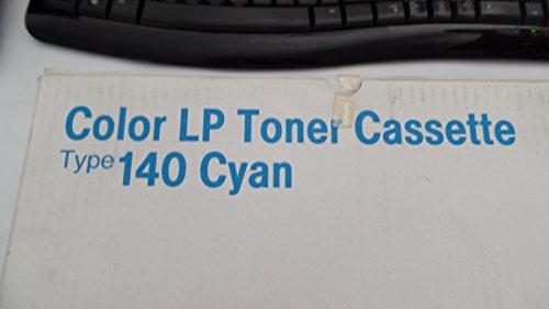 NEW Genuine OEM Ricoh Type 140 Cyan 402071 G228-17 Color LP Toner Cassette.