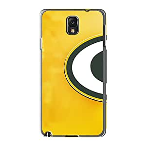 Samsung Galaxy Note 3 Ssd7643OlDv Support Personal Customs Vivid Green Bay Packers Pattern Shock Absorbent Cell-phone Hard Covers -AshtonWells