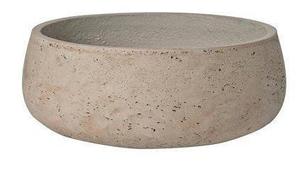 Elegant Fiberstone Grey Planter Pot 4