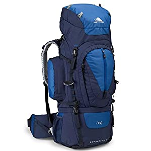High Sierra Appalachian 75 Internal Frame Backpack, True Navy/Royal/True Navy