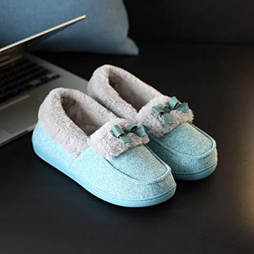 Lianaio 40 37 Caldo Adatto Scarpe Casa Pantofole Calde Piede Impermeabile Di 41 Piattaforma A 36 Cotone Per ZZrAq