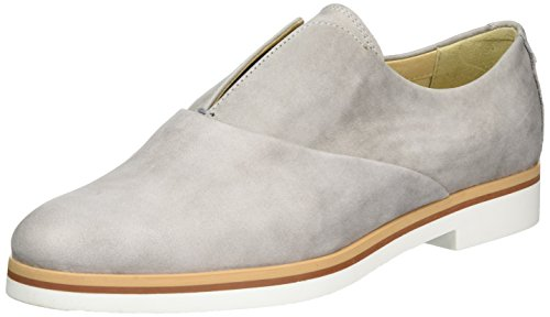 Geox D Janalee F, Zapatos de Cordones Oxford para Mujer Gris (LT GREYC1010)