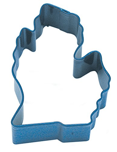 CybrTrayd Michigan State Cookie Cutter, Navy Blue
