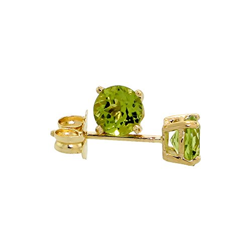 0.5 Ct Peridot Ring - 5