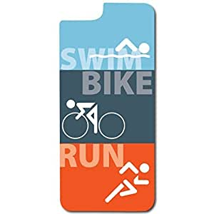 iPhone 6 Slim Protective Case - Triathlon Swim Bike Run