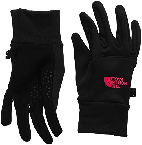 The North Face Women's Etip Gloves TNF Black/Cerise Pink SM