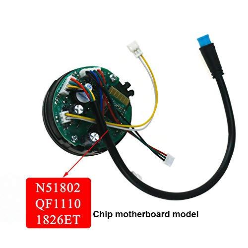 Ridecle Electric Scooter Bluetooth Control Board BT Card No. 9 Scooter Line Instrument Panel Suitable for Segway ES2/ES1/ES3/ES4
