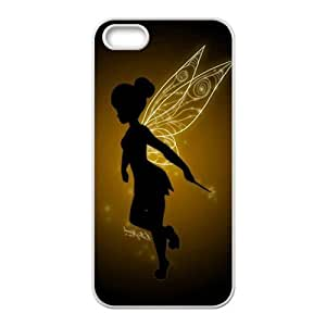 Lovely Flower Fairy Cell Phone Case for iPhone 5S