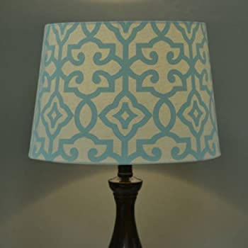 Better Homes And Gardens Irongate Lamp Shade   Multi Color (TEAL CREAM)
