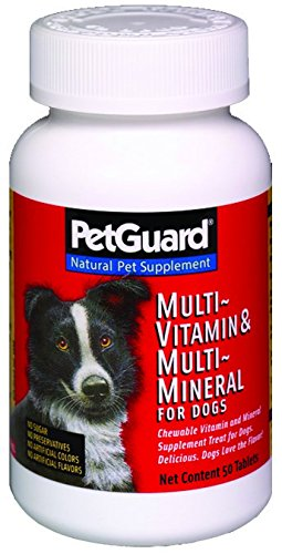 Petguard Multi Vit Mineral For Dog 50 Tab