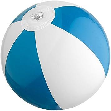 Mini pelota de playa/agua Ball/Color: Azul de color blanco: Amazon ...