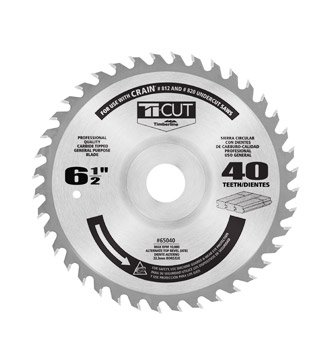 - Timberline 65040 Floor King Saw Blade Comparable to Crain 821 Blade