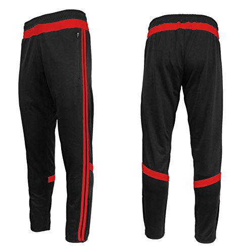 Galaxy by Harvic Mens Soccer Athletic Training Sweat Track Pants – DiZiSports Store