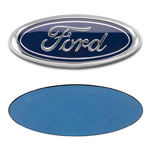 [해외]FORD 7 Inch Front Grille Tailgate Emblem 3D Oval 3M Double Side Adhesive Tape Sticker Badge for Ford Escape Excursion Expedition Freestyle F-150 F-250 F350 / FORD 7 Inch Front Grille Tailgate Emblem, 3D Oval 3M Double Side Adhesive...