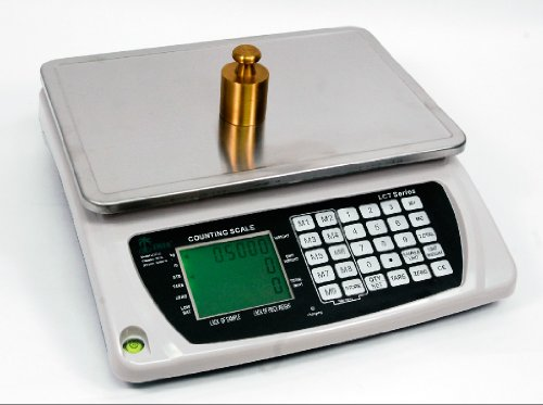 LW Measurements Large Heavy Duty Counting Inventory Digital Scale 66 Lbs by LW Measurements, LLC