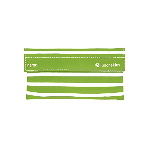 Lunchskins Reusable Velcro Snack Stripe product image