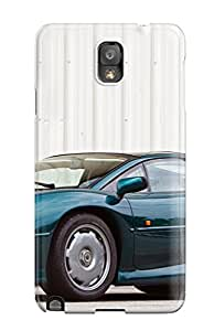 Hot IVYaeCL3526EKsIN Jaguar Xj220 17 Tpu Case Cover Compatible With Galaxy Note 3