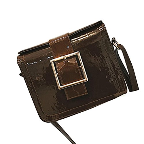 Holiday Flap Party Women's Bags Broadband Cross For Bag Shoulder Fashion Crossbody Her Patent Women's Body Small Nice Soft Shoulder Brown Handbags Bag Leather Bags 1B54TwnBq