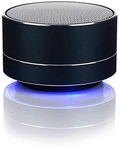 R&J LED Bluetooth Mini Speakers with Hands-Free Calling, FM Radio, Deep Bass Audio and SD Card Support (Multicolour) (B07Z3W9739) Amazon Price History, Amazon Price Tracker