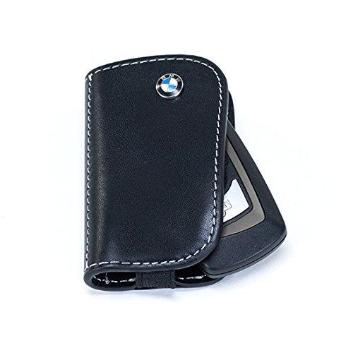 BMW Leather Key Case Black