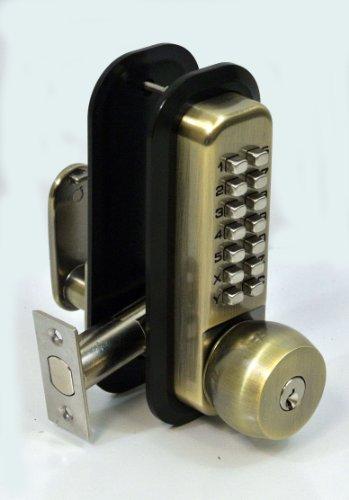 Anaconda All Weather Mechanical Keyless Deadbolt Door Lock