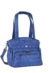 Lug Womens Windjammer Everyday Travel Tote, Cobalt Blue, One Size