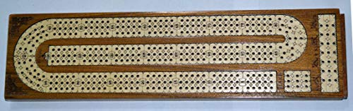 PalmRoyal Continuous Cribbage Board / Box Inlaid in 12