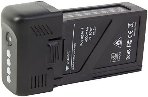 Walkera 15003402 Lipo de batería (22.2 V/4500 mAh) para Voyager 4 ...