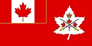 magFlags Large Flag Canadian Army, adopted in 14 July 2016 | landscape flag | 1.35m² | 14.5sqft | 80x160cm | 30x60inch - 100% Made in Germany - long lasting outdoor flag