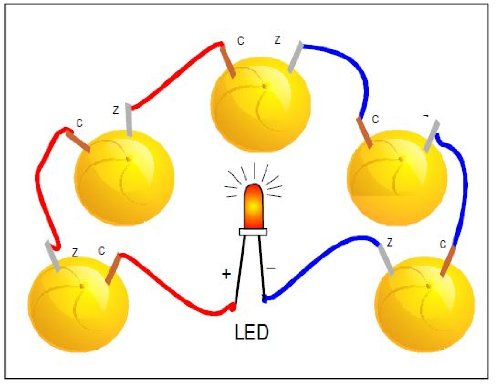 Buy Electricity From Lemon battery Kit . Do It Yourself . Working ...