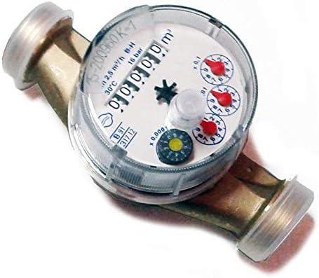 1/IMP. //0.25/litro . Contador de agua caliente con salida pulsos
