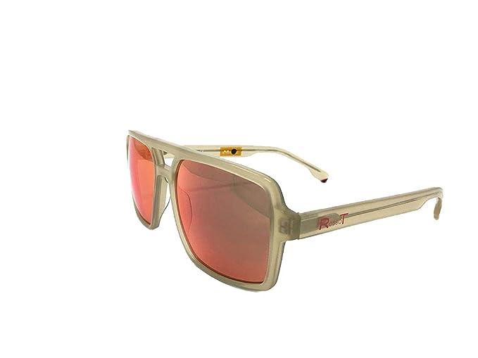 RossoT, Gafas de sol. Lentes de espejo, montura y patillas ...