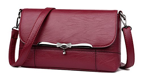 Sacs Travail Rouge Femme fourre Cartable VogueZone009 Vineux Rouge ¨¤ CCAFBO181576 Mode tout Vineux Sacs bandouli¨¨re w0IPqF