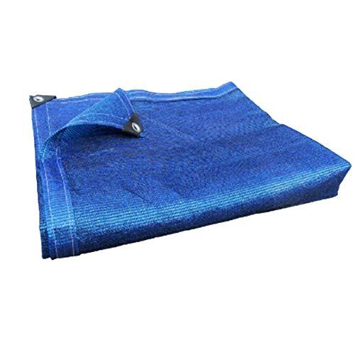 お母さん放牧する密接にLIXIONG オーニングシェード遮光ネシェーディングネット シェード 日焼け止め 厚い 多機能 通気性のある キャンプ 抗UV 折りたたみが簡単 、5色 サイズはカスタマイズ可能です (色 : Blue, サイズ さいず : 1.8x5.8m)