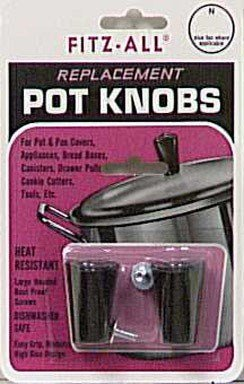 (Tops 55706 Fitz-All Replacement Pot Knobs, Tall, Set of 2 )