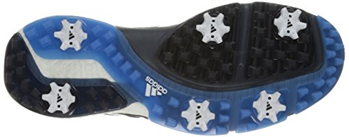 Adidas Powerband Boa Boost Scarpe Da Golf Grigio Chiaro / Scuro Ardesia / Blu Scuro