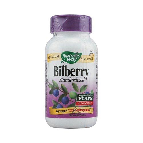 Nature's Way - Bilberry Std, 90 veggie caps