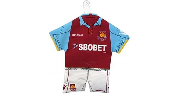 West Ham United FC oficial fútbol Mini Kit para lunas de coche ...
