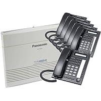 KX-TA824 System, and (6) KX-T7730 Phones Black
