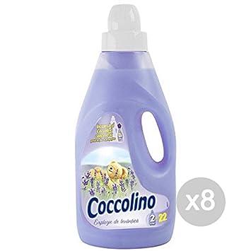 Juego 8 coccolino Suavizante LT 2 fresco Lavanda detergente ...