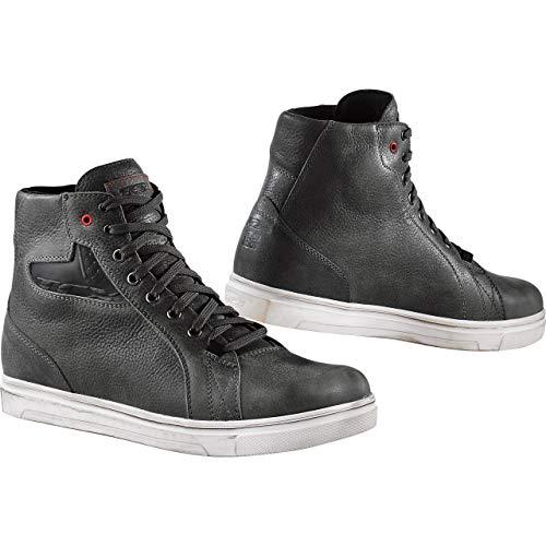 TCX Ace Waterproof Adult Street Motorcycle Shoes - Grey/EU 44 / US 10