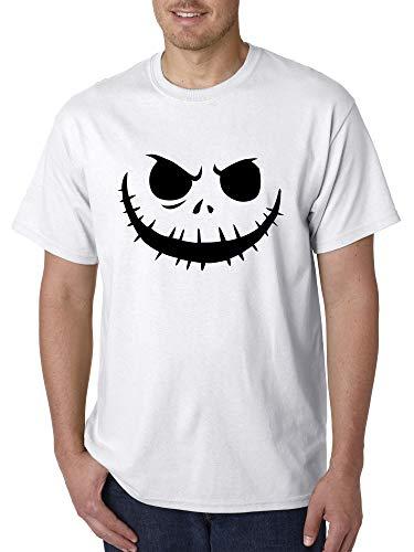New Way 971 - Unisex T-Shirt Jack Skellington Pumpkin Face Scary XL -