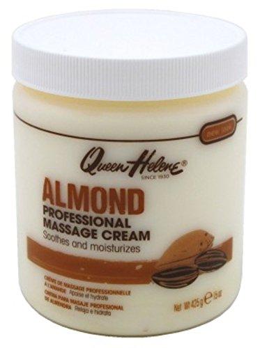 Queen Helene Jar Cream Almond Massage 15 Ounce (443ml) (6 Pack)